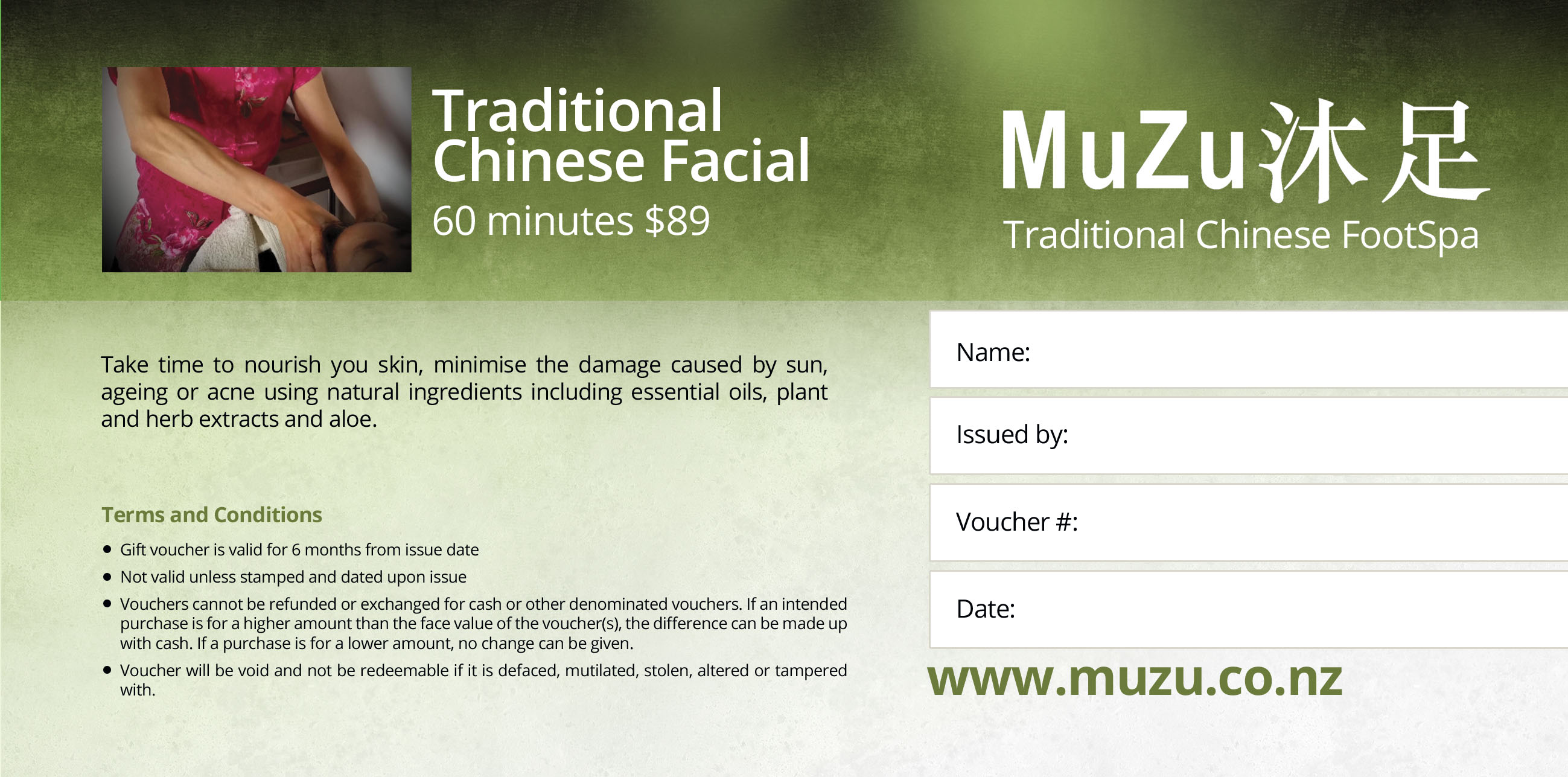 Traditional Chinese Facial
